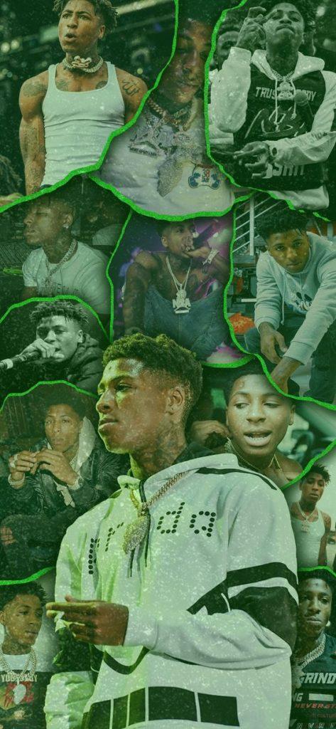 NBA YoungBoy Green Wallpaper