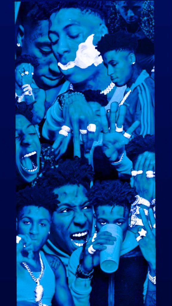 Blue NBA YoungBoy Wallpaper