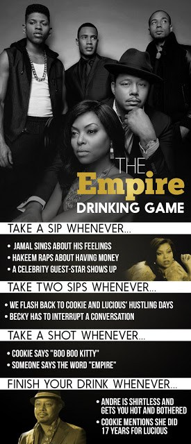 Empire Fox Drinking Game