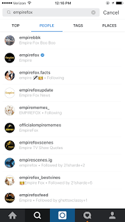 Why Does It Say Following Under Names On Instagram?