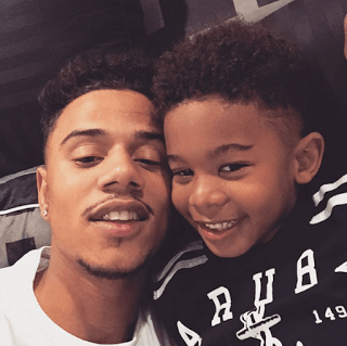 Lil Fizz, Moniece, Mother Of His Son Kamron David