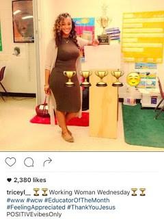 Patrice Tricey Brown, Atlanta Teacher Brown Dress Goes Viral
