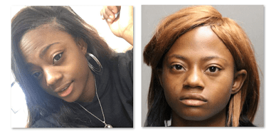 Brittany Herring Chicago Kidnapping Mugshot Facebook Video Arrested