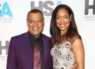 Laurence Fishburne Wife Gina Torres