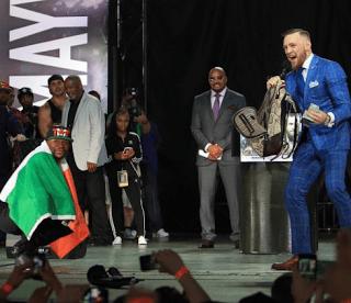 Conor McGregor Racist Dancing Monkeys