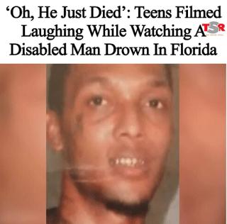 Jamel Dunn Video Drowning Disabled Florida Man