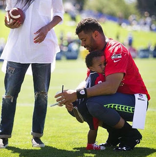 Russell Wilson Baby Future