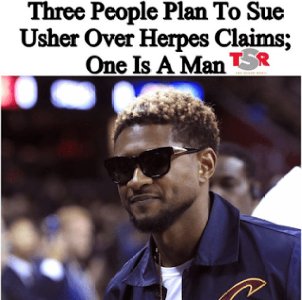Is Usher Gay? Gave Man Herpes?