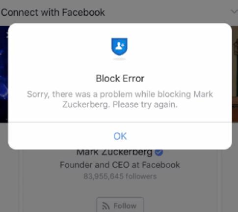 Following Me Facebook Hoax Block List