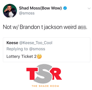 Brandon T. Jackson Bow Wow Beef