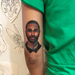 Jhene Aiko Tattoo Big Sean