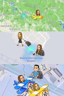 Snap Map Actionmoji Plane