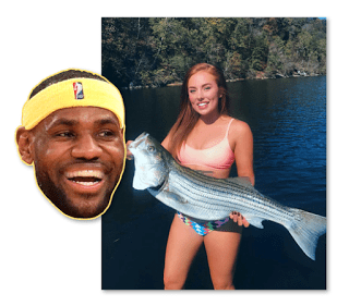 Heidi Hoback LeBron James Instagram Model