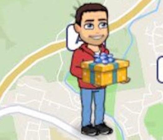 Bitmoji Holding Present Actionmoji Snapchat