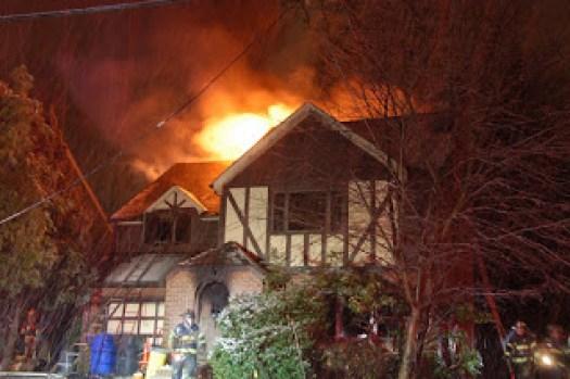 Jim Jones Mom's House Burns Down On Christmas