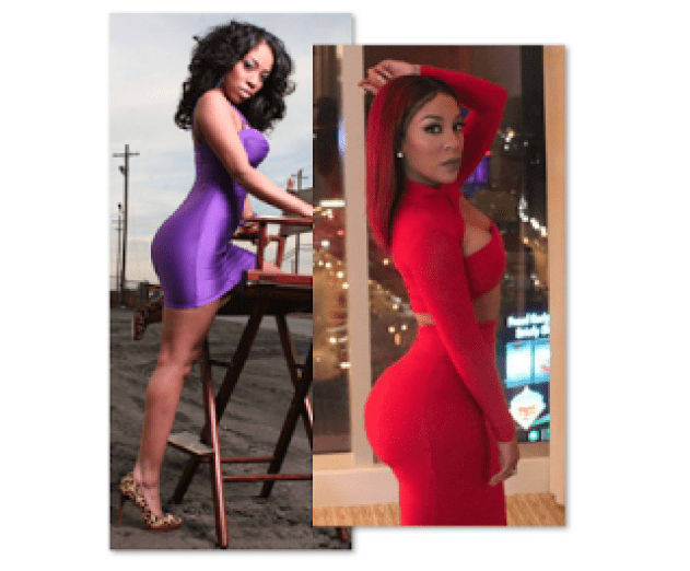 K. Michelle Before And After - Plastic Surgery - Empire BBK K Michelle Before And After Body
