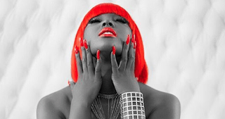 Amara La Negra With Red Hair