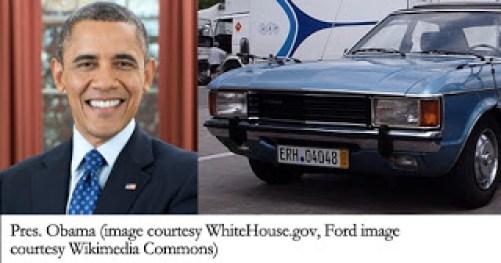 Barack Obama's First Car Was A Ford Granada