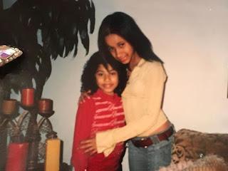 Cardi B and her sister Hennessy Carolina