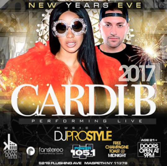 Cardi B New Years Eve