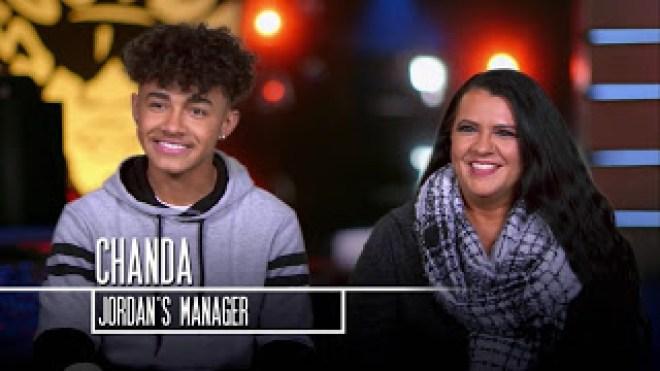 Jordan Young Manager Chanda Mom