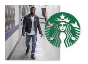 Kevin Hart Starbucks