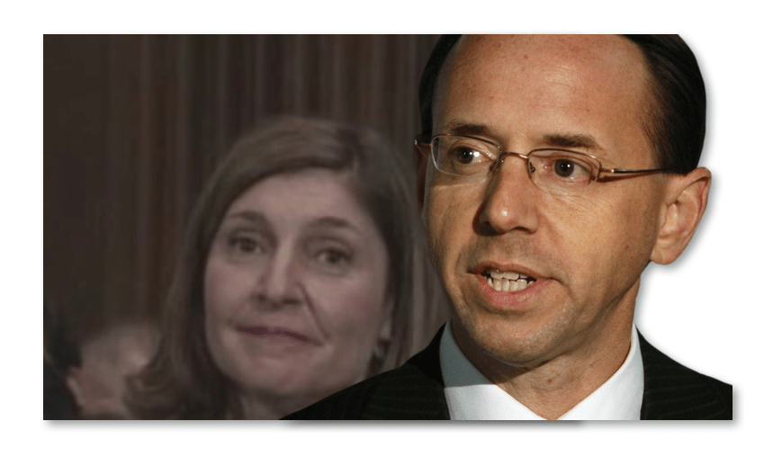 Rod Rosenstein Wife Lisa Barsoomian