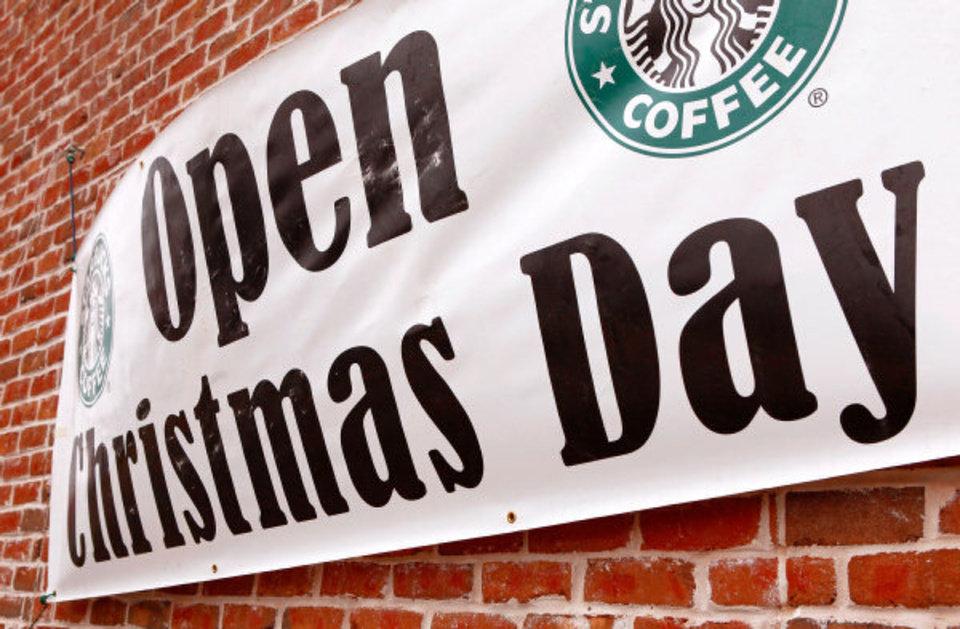 Stores Restaurants Open Christmas Day