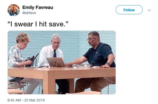 Robert Mueller Report Memes