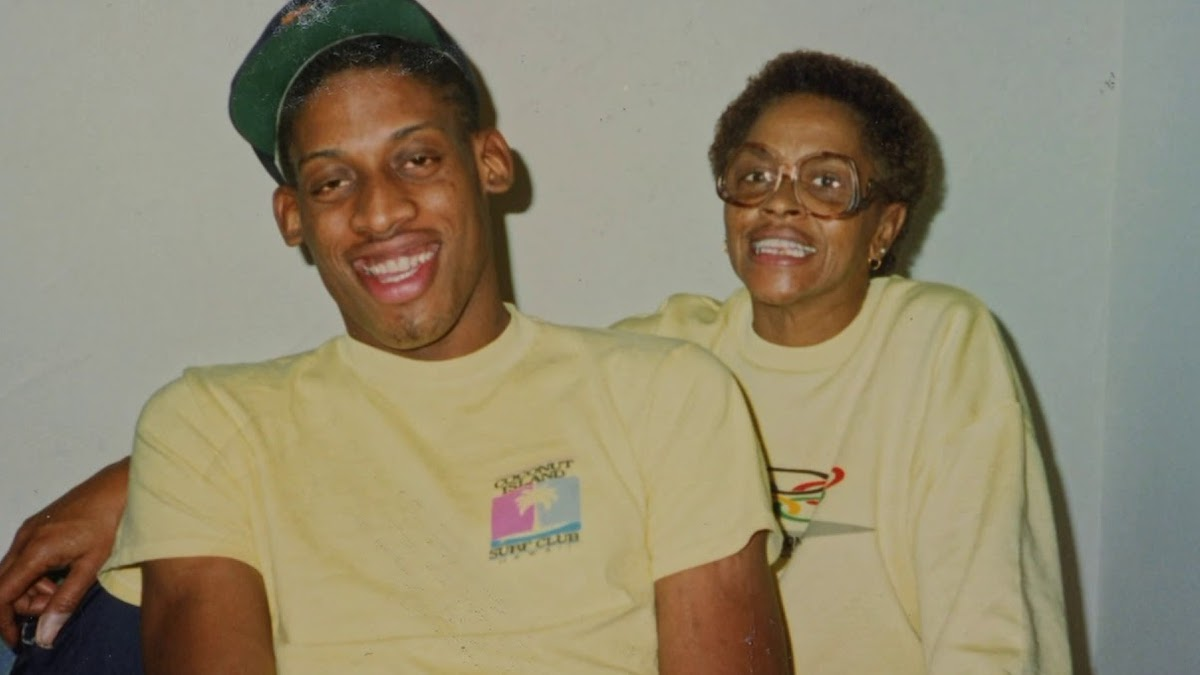 Dennis Rodman Mother Shirley