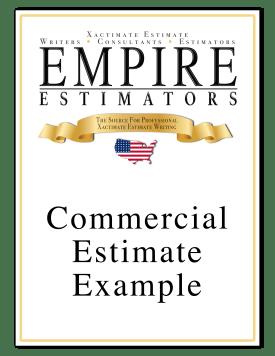 Xactimate Estimate Commercial Sample