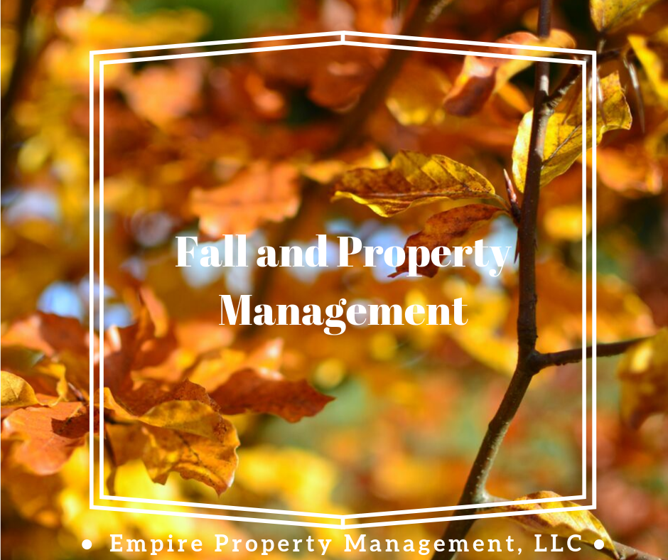 Fall and Property Management- 2019