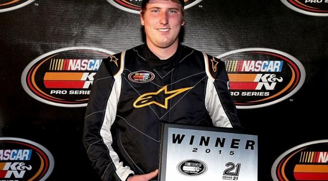 Austin Hill Continues NASCAR K&N Pro Series East Winning Streak into 2015 Season