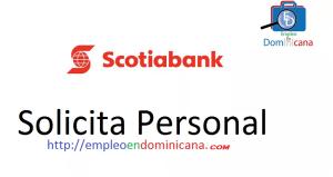 vacante disponible en scotiabank