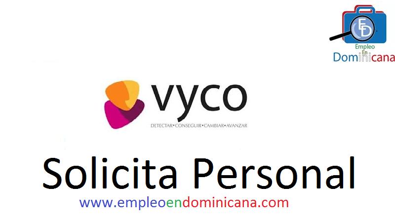 vacantes de empleos disponibles en VYCO aplica ahora a la vacante de empleo en República Dominicana