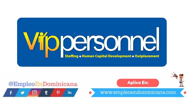 vacantes de empleos disponibles en Vippersonnel aplica ahora a la vacante de empleo en República Dominicana