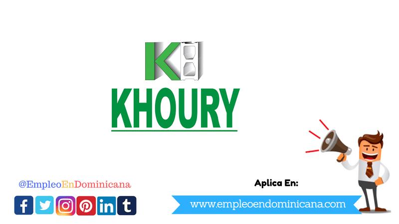 vacante de trabajo en block khoury industrial santo domingo republica dominicana