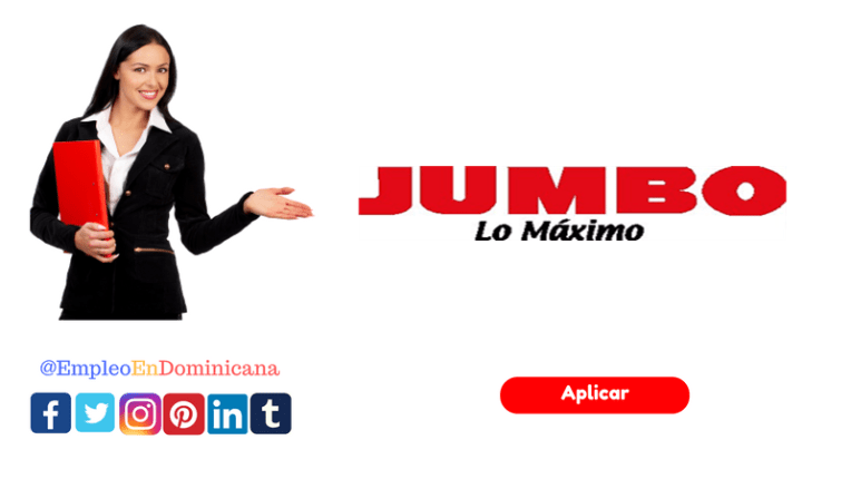 Vacante de empleos en JUMBO San Isidro reclutate ahora en los puestos de trabajo en república dominicana