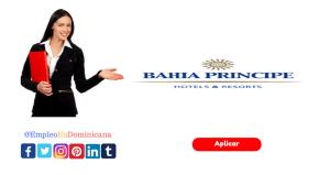 vacante para Director Recursos Humanos en Bahia Principe Hotel & Resorts república dominicana