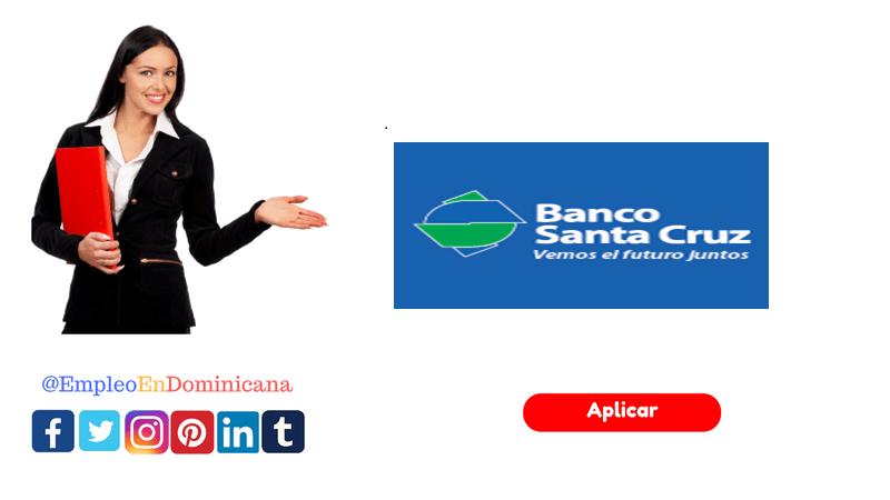 vacante de empleo en Banco Santa Cruz