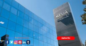 Meliá Hotels International se encuentra en la busqueda de personal como Chef Pastelero