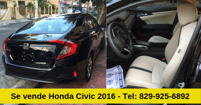 Oferta: Se vende Honda Civic 2016