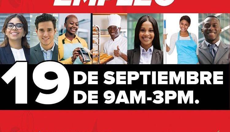 Feria de empleos en super mercados Ole santo domingo este