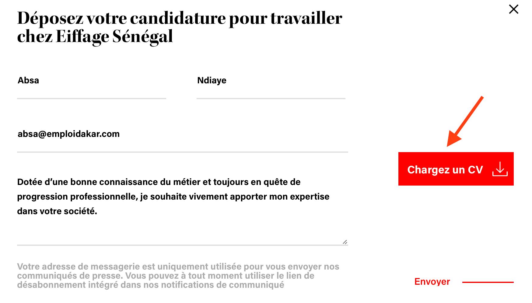Comment postuler une demande d'emploi chez Eiffage Sénégal? - iemplois