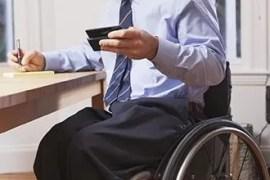 Portrait travailleur handicape