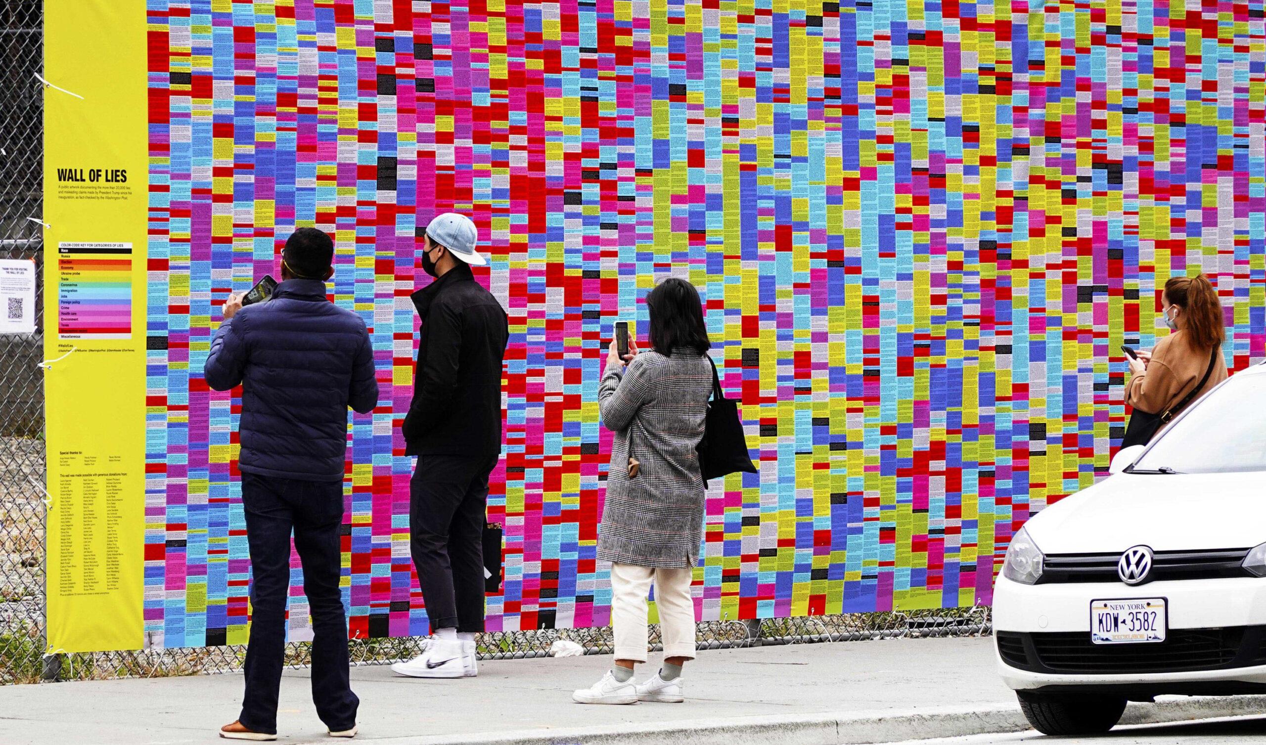 Mur des mensonges NYC