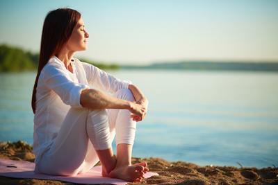 méditation extérieure