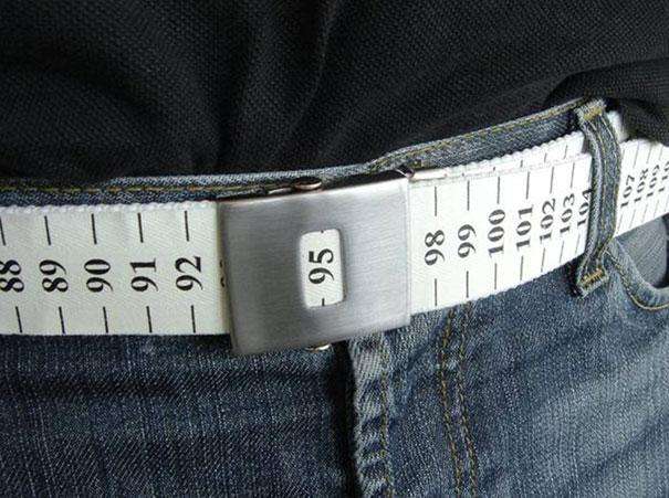 La ceinture ruban à mesurer