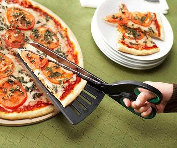 Le coupeur de pizza