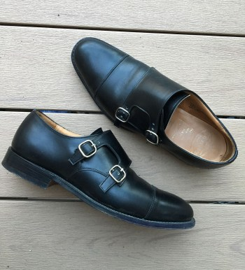 Pair of Church's Monk Straps